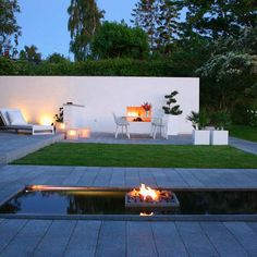 Granit Plank Olymp Fireplace Design: Haddeland design