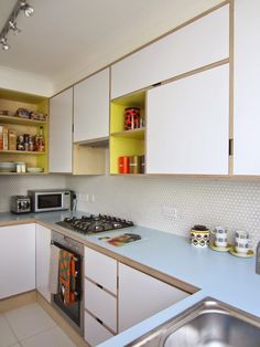 A while back I posted some photos of my kitchen, in which you could just see a little of my worktop...     And it inspired Adam Jacobs-Dean...