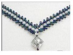St. Petersburg Stitch, Part I - Jewelry Design by Karla Schaefer