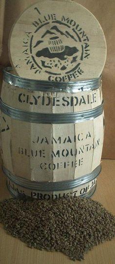 Jamaica blue mountain coffee: the best.