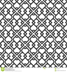 Simple Black And White Patterns Google Search Retro Pattern Design