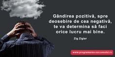 Cum scapi de gandirea negativa? (contine video) Zig Ziglar, Videos, Movies, Movie Posters, Films, Film Poster, Cinema, Movie, Film