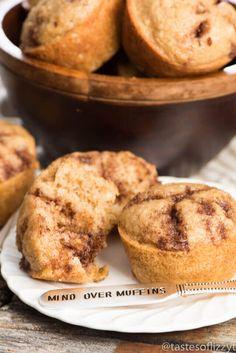 Easy Cinnamon Muffins Recipe with Buttermilk
