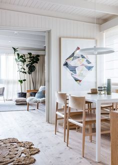 The Melbourne home of Simone Haag, via thedesignfiles.net. Photo by Sean Fennessy.
