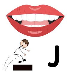 Sådan ser /j i/ ud Speech Activities, Work Activities, Speech Language Pathology, Speech And Language, J Words, Articulation Therapy, Oral Motor, Alphabet Games, English Language Learning