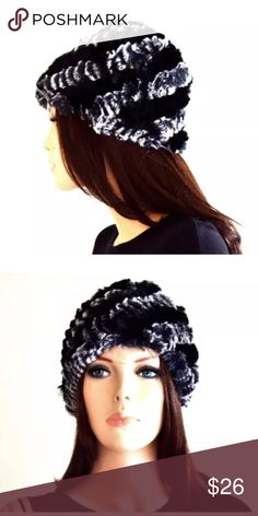 Beanie hat women's beanies wool beanies Gorgeous classic style black beanies with grey stripes! They are so cute and comfortable to wear. Such a great Winter hat for that snow bunny look! Perfect for skiing, snowboarding, or just wearing anytime!   One Size Fits Most  Winter hats, cool beanies, cute beanies, beanie hats for women, winter beanies, girl beanies, beanies for women, black beanies, grey beanies, fur hat, fur beanies  SHIPPING  This item is ready to ship within 1-2 business days…