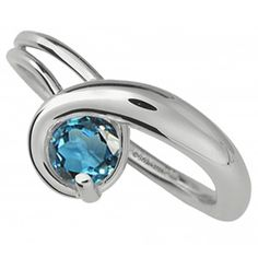 Gem Elegance ring in silver with topaz, price on request; E.L. Designs