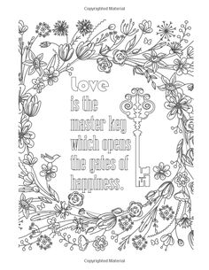 Amazon 50 INSPIRATIONAL Coloring Quotes An Adult Book 9781533040404
