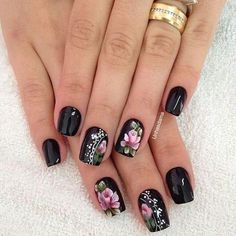 Trending winter nail art acrylic you must try 35 Fabulous Nails, Gorgeous Nails, Gel Nail Art, Gel Nails, Nail Design Spring, Acryl Nails, Watermelon Nails, Nail Designer, New Nail Designs