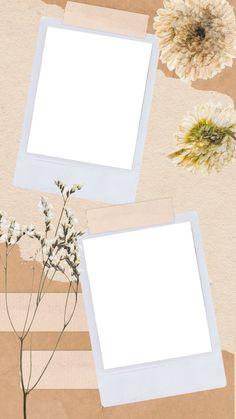 Polaroid Picture Frame, Photo Polaroid, Polaroid Pictures, Polaroids, Framed Wallpaper, Flower Background Wallpaper, Black Wallpaper, Marco Polaroid, Picture Templates