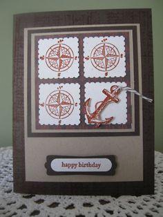 Stampin' Up/PaperTrey Handmade Greeting Card by ConroysCorner