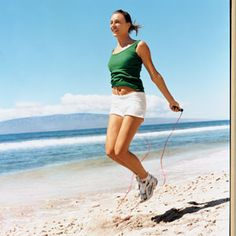 Did you know that 10 minutes of jumping equals a 30-minute run? The 3-Minute Jump Rope Workout.