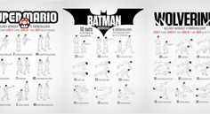 Motivation Monday: Superhero Workouts - Superheroes have complex back stories that reveal the origins of their powers and motivations. That's great for them, but you need motivation to enhance your powers too. These superhero-inspired workouts can help.
