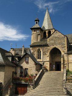Joseph Abhar - Saint-Fleuret church, Estaing, Aveyron, Midi-Pyrénées, France