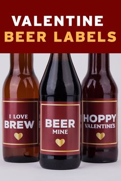 FREE Valentines Beer Labels..Just pay for shipping and handling and use the code at checkout VDAYBEER **Offer limited to this set only