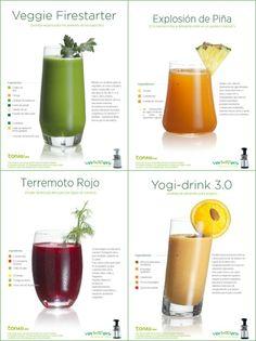 Vivan los cócteles vegetales: pdf gratuito de zumos - La Cocina Alternativa