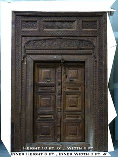 GANDHARA ANTIQUE COLLECTION  Massive & Extremely beautiful Doors, Windows, Columns, Furniture and Interior decorative items with delicate pattems. adomed the home & places of this kingdom of Swat. These treasures were made of  ...