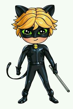 muciz uğur böceği ile kara kedi : cat noir - kara kedi -