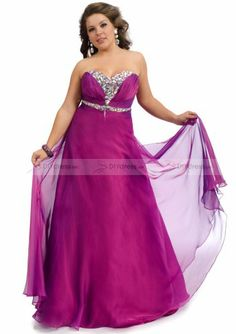 Übergrößene Ballkleider Plus Size Prom Dress