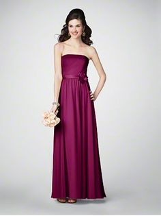 Maids Monday! #AlfredAngelo Bridemaids Style 7192 in #Berry