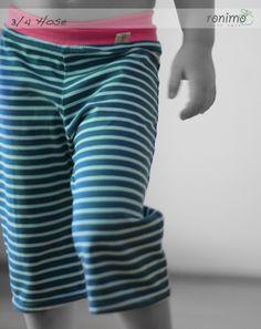 3/4 Hose aus Bio-Jersey Pants, Baby, Fashion, Trouser Pants, Moda, La Mode, Women's Pants, Newborn Babies, Fasion