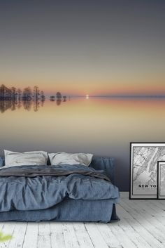Lake Mattamuskeet Wall Mural - Wallpaper