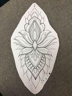 62 ideas for tattoo geometric flower mandalas ink Tebori Tattoo, Tattoo Femeninos, Tattoo Motive, Tattoo Drawings, Body Art Tattoos, New Tattoos, Sleeve Tattoos, Tatoos, Flower Drawings
