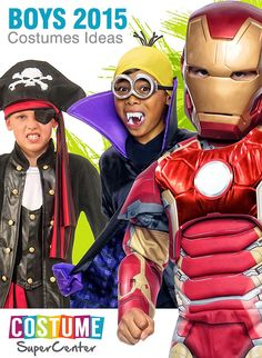 Checkout This Year's Hot New Boys Halloween Costume Licenses & Styles