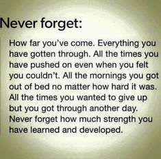 Strength Quotes : Never Forget!!