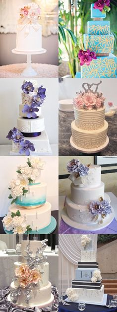 32 Jaw-Droopingly Beautiful Wedding Cake Designs: http://www.modwedding.com/2014/10/16/32-jaw-droopingly-beautiful-wedding-cake-designs/ #wedding #weddings #wedding_cake Featured Wedding Cake: Anna Elizabeth Cakes;