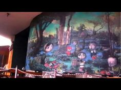 """Joe Sorren discusses his paintings, process, and epic mural """"The Veridic Gardens of Effie Leroux,"""" in downtown Flagstaff."""