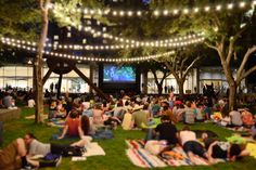 Every Summer outdoor movie screening in DFW, now in one calendar