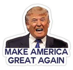 Trump, make America great again!