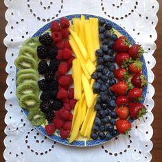 My Casual Brunch: Pequeno-almoço de frutas / Fruit breakfast