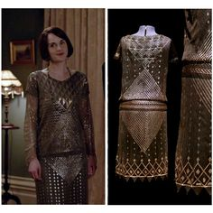1920s flapper dress. Assuit. Art Deco. Egyptian by 21stCenturyVamp