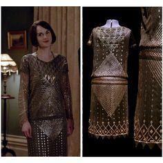 1920s flapper dress. Assuit. Art Deco. by 21stCenturyVamp