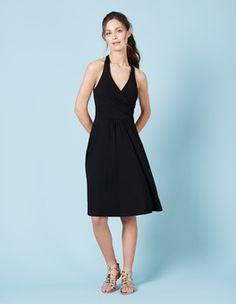 Black St Lucia Dress Boden