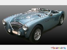 1953 Austin Healey 100/4 BN1 - oh my this is so beautifully restored!