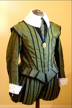 Doublet 16th cent. Replica by Andrew Reed