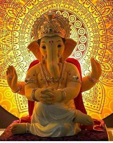 Ganpati Bappa Ganpati Bappa Photo, Ganpati Picture, Ganesh Chaturthi Status, Happy Ganesh Chaturthi Images, Shri Ganesh Images, Ganesha Pictures, Krishna Images, Ganesh Idol, Ganesha Art
