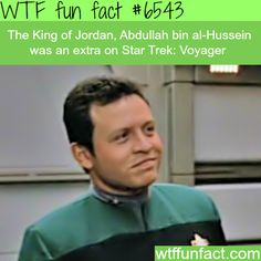 King of Jordan in Star Trek - WTF fun facts