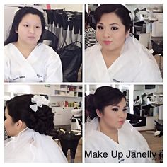 #bride #make up #hairstyle