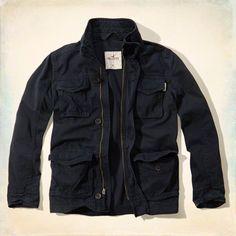 Twill Cargo Jacket
