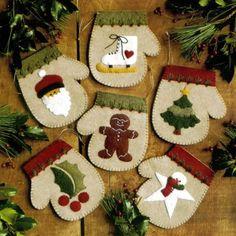 Felt Craft Kit - Warm Hands - by Rachael's of Greenfield | eBay