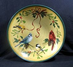 59 best birds lenox winter greetings everyday holiday stoneware by lenox winter greetings everyday stoneware by catherine mcclung large 145 serving bowl m4hsunfo