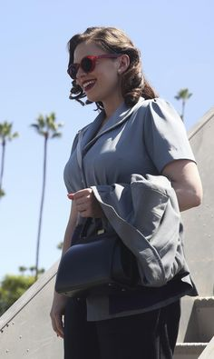 Peggy Carter (Haley Atwell) in the Agent Carter Season 2 episode 'The Lady in the Lake'