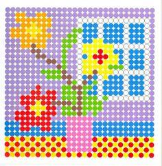 Spring perler bead pattern