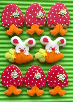 Easter cookies - Cake by sansil (Silviya Mihailova)