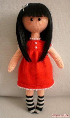 МК куколки Сьюзен (автор Алона Рабинович).