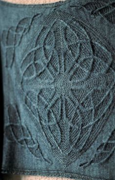 Morvarch shawl - Lucy Hague